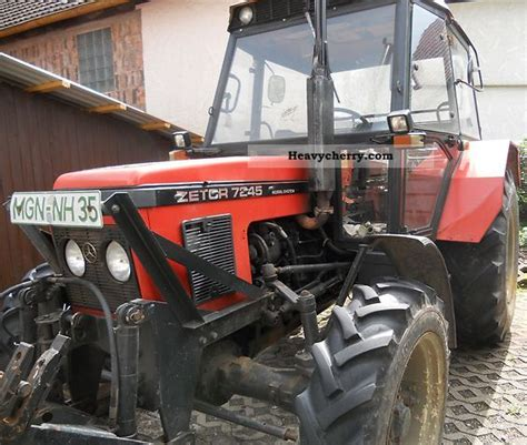 Zetor Horalsystem 7245 1987 Agricultural Tractor Photo and