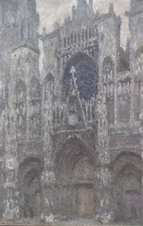 File:Claude Monet - The Cathedral in Rouen