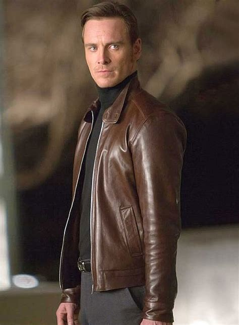 X Men First Class Magneto Leather Jacket : Made To Measure