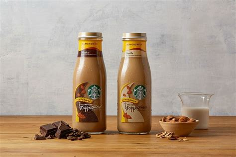 Starbucks Releasing Non-Dairy Bottled Frappuccinos, Plus