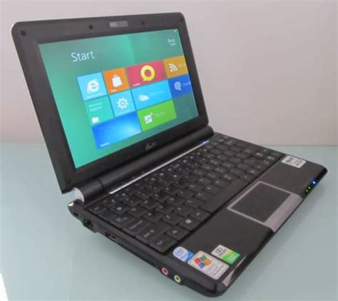 This is what Windows 8 looks like on (old) netbooks