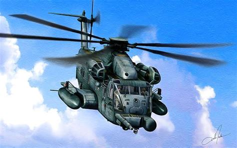 The Sikorsky MH-53J Pave Low III series is a long-range