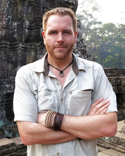 Josh Gates Weight Height Ethnicity Hair Color