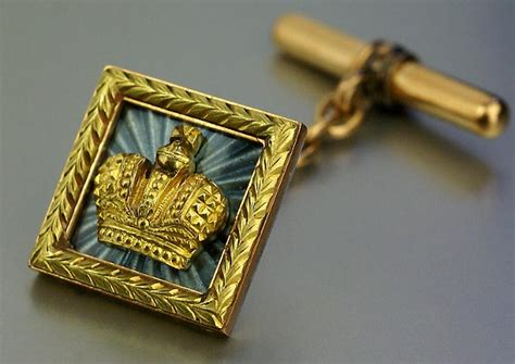 Imperial Cufflinks By Faberge C