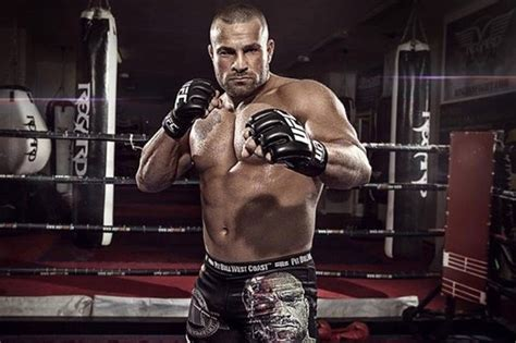 Top cage fighter and wrestler nicknamed 'The Terminator