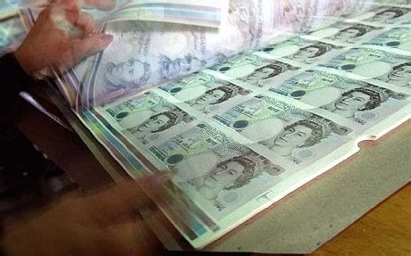 Quantitative easing by the Bank of England: printing more