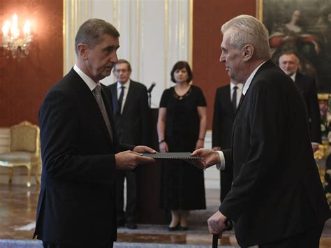 ANO leader Andrej Babiš appointed Czech prime minister