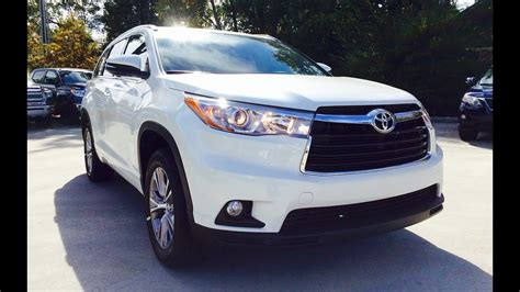 2015 Toyota Highlander XLE V6 Full Review / Exhaust