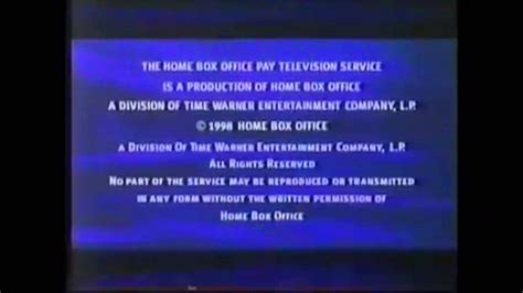 HBO Feature Presentation and Rated G Bumper 1997-1998