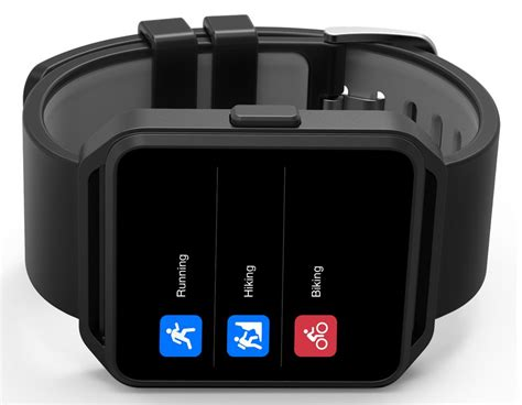 Hodinky CUBE1 FITWATCH Black | iSPACE