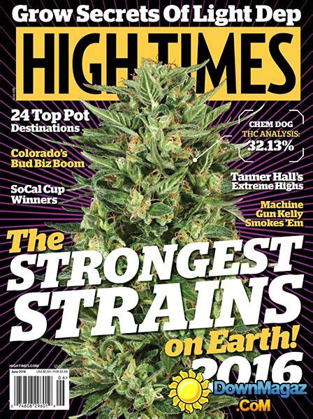 High Times - June 2016 » Download PDF magazines