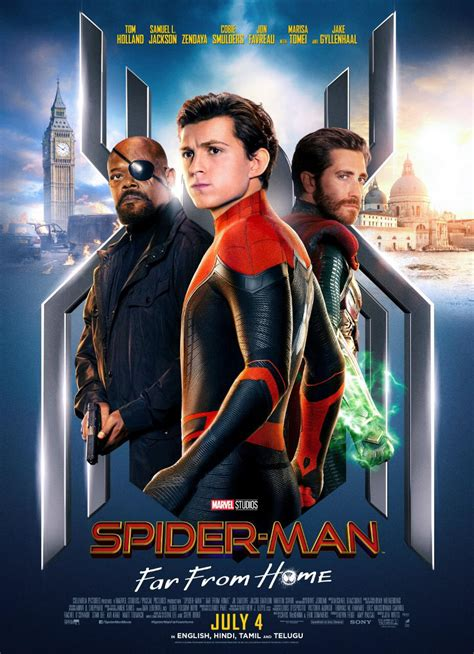 Spider-Man: Far From Home Release Date in India, Tickets