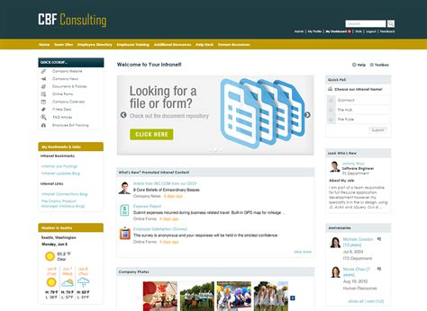 Get The Look; The 3 Best Intranet Designs