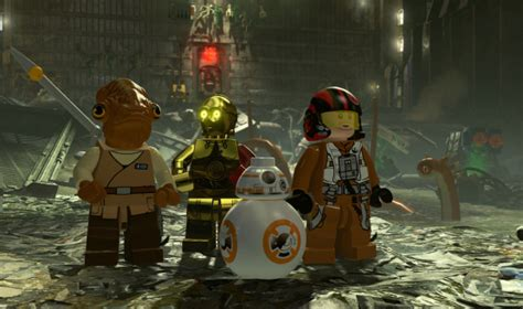 LEGO Star Wars The Force Awakens New Adventures Detailed