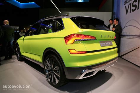 2019 Skoda Small SUV Previewed by Vision X Concept, Rides