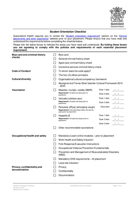 FREE 21+ Checklist Examples for Students in PDF   Google