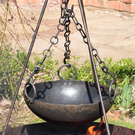Kadai Cooking Bowl with 3 Chains Fathers Day Gifts | Ideas
