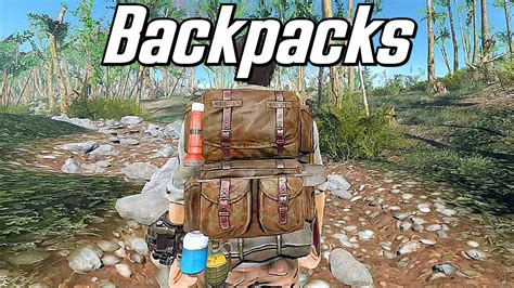 The Best Backpack Mod - Survivalist Go-Bags - Fallout 4
