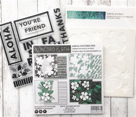 Card share: guest designing for Concord & 9th - CZ Design