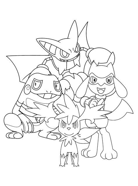 Pokemon coloring pages (With images) | Omalovánky
