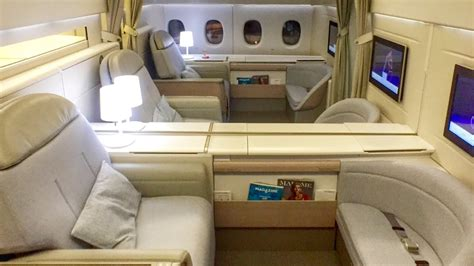Air France FIRST CLASS | New La Premiere Cabin - YouTube