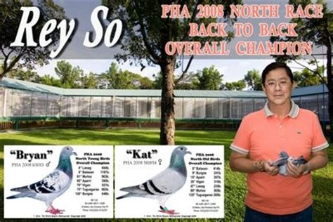 Rey So - Philippine Pigeon Sports Library