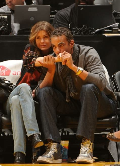 Lakers Love For Ellen Pompeo, Chris Ivery - TV Fanatic