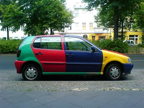 Harlequin VW Polo | I'm all for unique cars but this