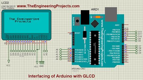 Interfacing of Arduino with GLCD - The Engineering Projects
