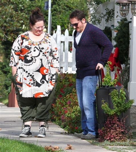 Melissa McCarthy Looking Curvier With The Fam In L