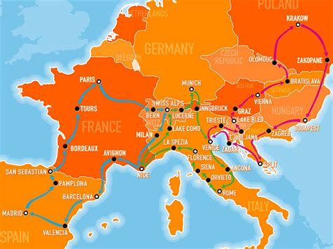 Explore Europe with the Busabout hop-on hop-off coach pass