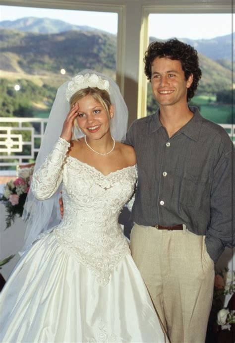 Kirk Cameron at Candace Cameron's Wedding in 1996
