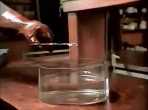 Alkali Metals reaction with Water - YouTube