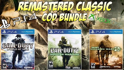 What The Next COD Should Be: Classic Call of Duty Bundle