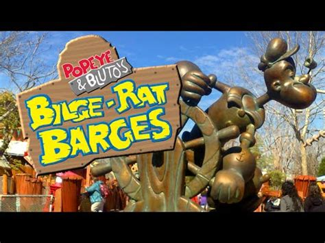 Popeye and Bluto's Bilge-Rat Barges, Islands of Adventure