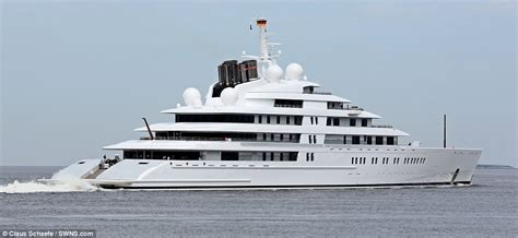 World's largest private yacht 'Azzam' takes to the sea