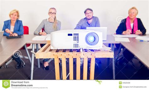 Presentation Projector Royalty Free Stock Images - Image